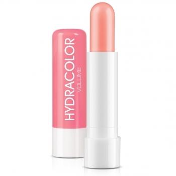 Оттеночный бальзам для губ с эффектом объема, тон розовый