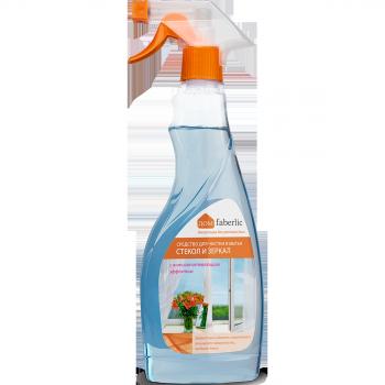Средство для чистки и мытья стекол и зеркал с антизапотевающим э Faberlic (Фаберлик)