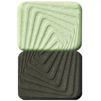 Двухцветные тени для век Пленительный дуэт тон Изумрудное ожер Faberlic (Фаберлик)