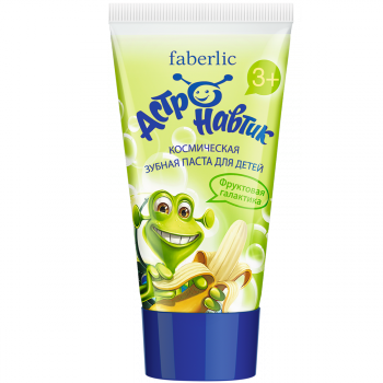"""Зубная паста для детей """"Фруктовая галактика"""""""