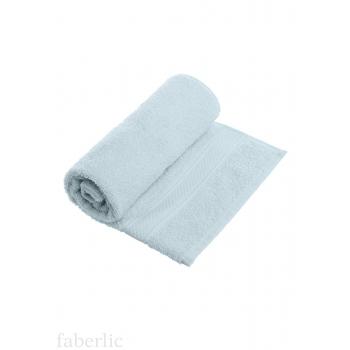 Полотенце для лица голубое