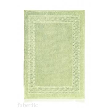 Коврик для ног зеленый