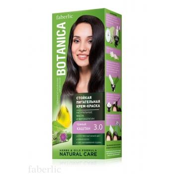 Стойкая питательная крем-краска для волос Botanica