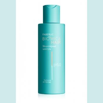Мицеллярный шампунь для чувствительной кожи головы Biomica