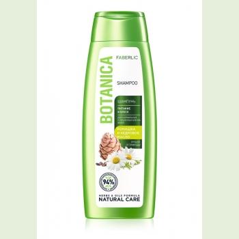 Шампунь «Питание и блеск» для нормальных и тусклых волос Botanica, 400 мл