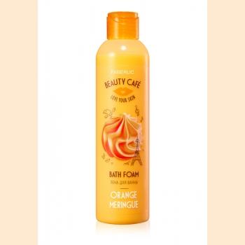 Пена для ванны «Апельсиновая меренга» Beauty Cafe