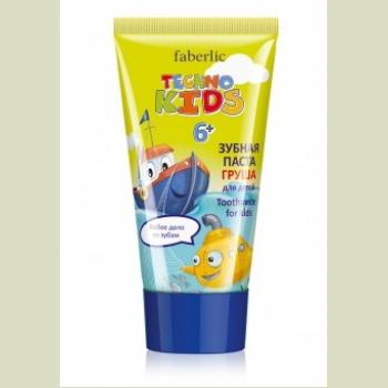 Зубная паста для детей «Груша» Faberlic (Фаберлик) серия TECHNO KIDS