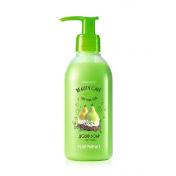 Жидкое мыло для рук «Грушевое парфе» Faberlic (Фаберлик) серия Beauty Cafe