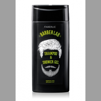 """Шампунь-гель для душа 2 в 1 серии """"Barber Lab"""""""