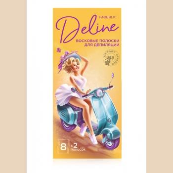 Восковые полоски для депиляции «Орхидея и масло мурумуру» Deline