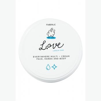 Крем для рук, лица и тела универсальный L.OVE Faberlic (Фаберлик) серия LOVE