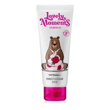 Детский универсальный крем «Малиновые мишки» Lovely moments
