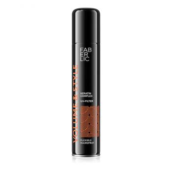 Лак для волос подвижной фиксации Volume & Style Faberlic (Фаберлик) серия  Volume & Style