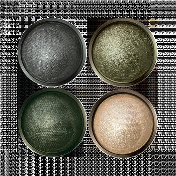 Запеченные тени для век «Ослепительный взгляд» тон Оливковая нежность