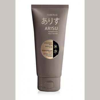 Детокс-скраб для кожи головы «Вулканический пепел» Arisu
