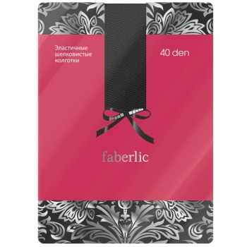 Эластичные колготки цвет Чёрный Faberlic (Фаберлик)
