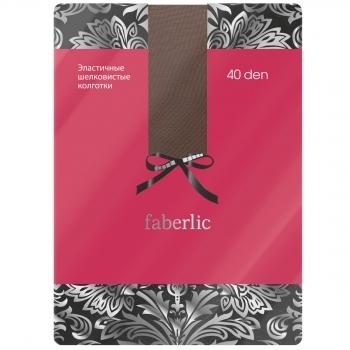 Эластичные  колготки цвет Кофейный Faberlic (Фаберлик)