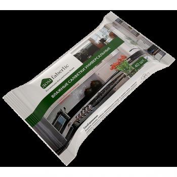 Влажные салфетки универсальные с антибактериальным эффектом Faberlic (Фаберлик)