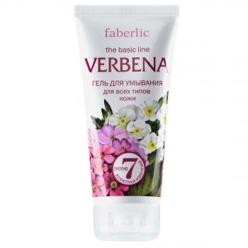 Гель для умывания для всех типов кожи серии Verbena Faberlic (Фаберлик)