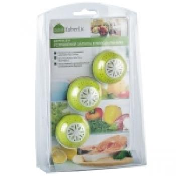Шарики для устранения запаха в холодильнике Faberlic (Фаберлик)