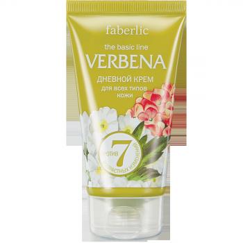 Дневной крем для всех типов кожи Faberlic (Фаберлик) серия Verbena