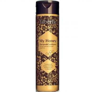 Кондиционирующий шампунь Faberlic (Фаберлик) серия My honey
