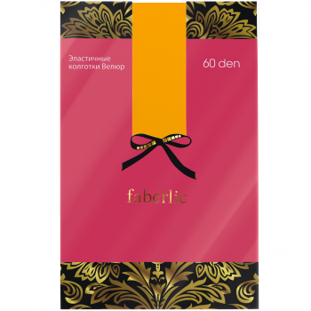 Цветные колготки цвет Шафран