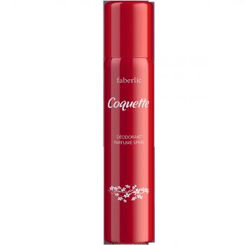 Парфюмированный дезодорант в аэрозольной упаковке для женщинCoquette Faberlic (Фаберлик)
