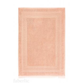 Коврик для ног персиковый Faberlic (Фаберлик)
