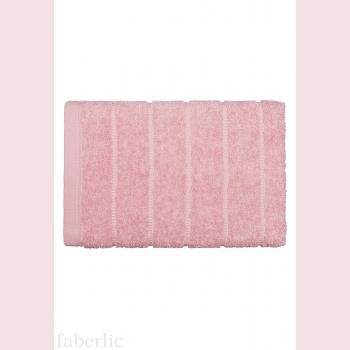 Полотенце для лица розовое
