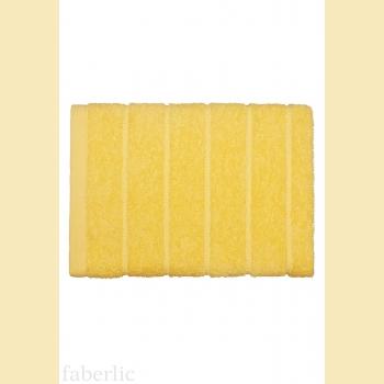 Полотенце для лица желтое