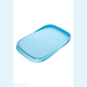Разделочная доска, голубая