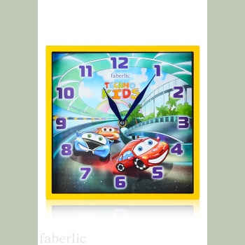 Часы настенные «Машинки»