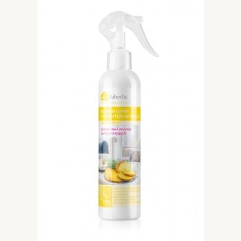 Водный спрей-освежитель воздуха «Солнечный ананас» Faberlic (Фаберлик) серия Дом Faberlic
