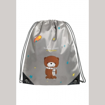 Мешок для обуви Teddy, цвет серый Faberlic (Фаберлик) серия Teddy&Bunny