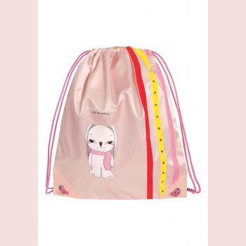Мешок для обуви Bunny, цвет розовый