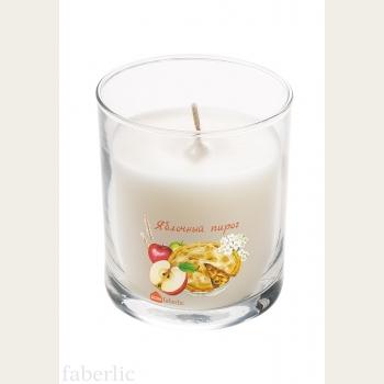 Ароматическая свеча «Яблочный пирог»