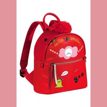 Рюкзак, цвет красный