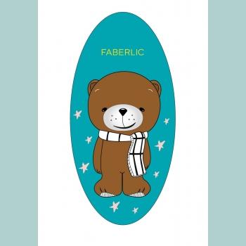 Наклейка светоотражающая Super Teddy
