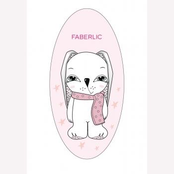Наклейка светоотражающая Super Bunny Faberlic (Фаберлик) серия Teddy&Bunny