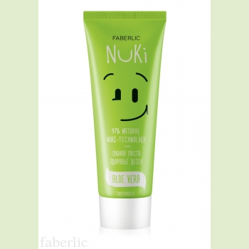 Зубная паста «Здоровье дёсен» Faberlic (Фаберлик) серия NUKI