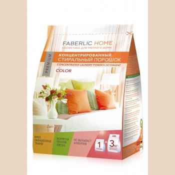 Концентрированный стиральный порошок для цветных тканей