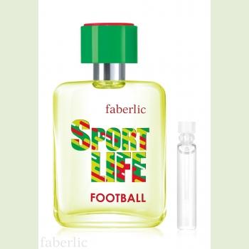 Пробник туалетной воды для мужчин Sportlife Football Faberlic (Фаберлик)
