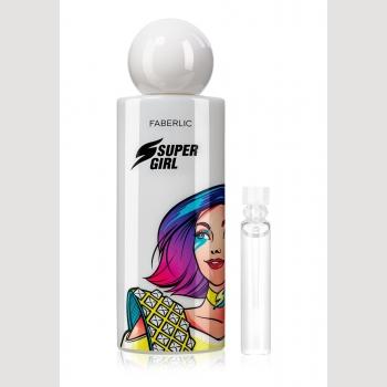 Пробник парфюмерной воды для женщин SuperGirl