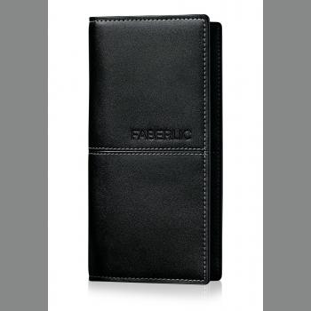 Портмоне мужское «Блэк», цвет чёрный Faberlic (Фаберлик)