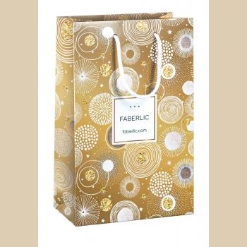 Пакет подарочный «Фейерверк», размер M