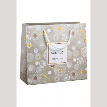 Пакет подарочный «Фейерверк», размер L