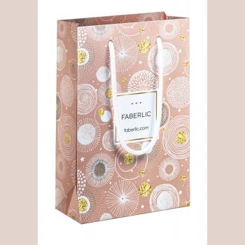 Пакет подарочный «Фейерверк», размер S