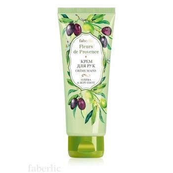 Крем для рук «Олива & бергамот» Faberlic (Фаберлик) серия Fleurs de Provence